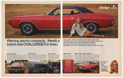 Dodge Challenger New Sports Compact (1970)