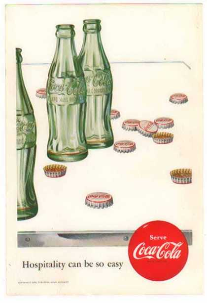 Coke – Remember Bottle Caps (1952)