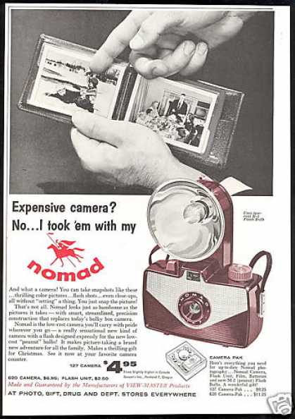 Nomad Camera Flash Unit Vintage Photo (1956)