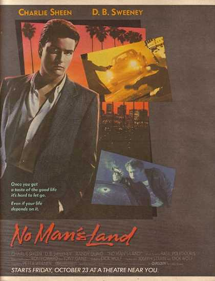 No Man's Land (Charlie Sheen) (1987)