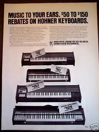 Hohner Keyboards Piano Clavinet Duo (1980)