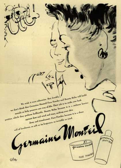 Germaine Monteil's Face Powder and Beauty Balm – Germaine Monteil (1943)
