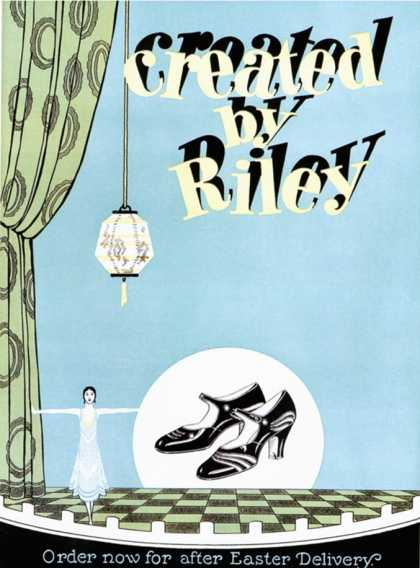 Riley, Shoes Womens, USA (1920)