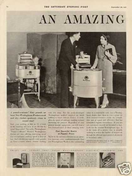Westinghouse Washer Ad 2 Page (1931)