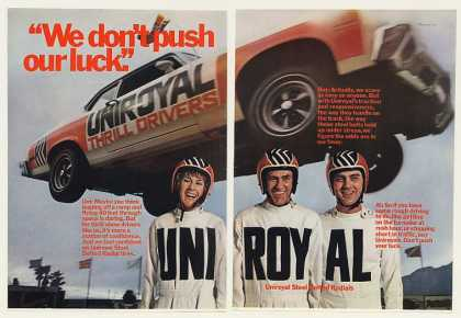 Uniroyal Tires Thrill Show Drivers (1973)