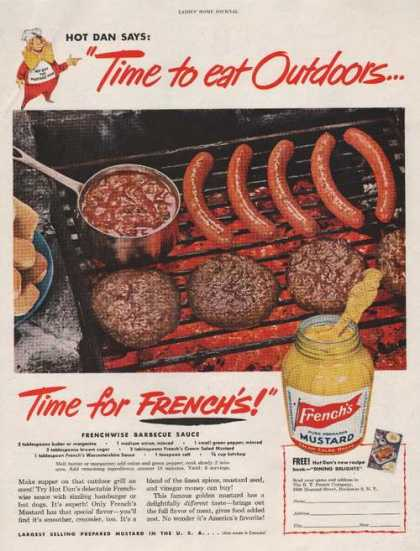 Frenchs Mustard and Hot Dogs (1950)