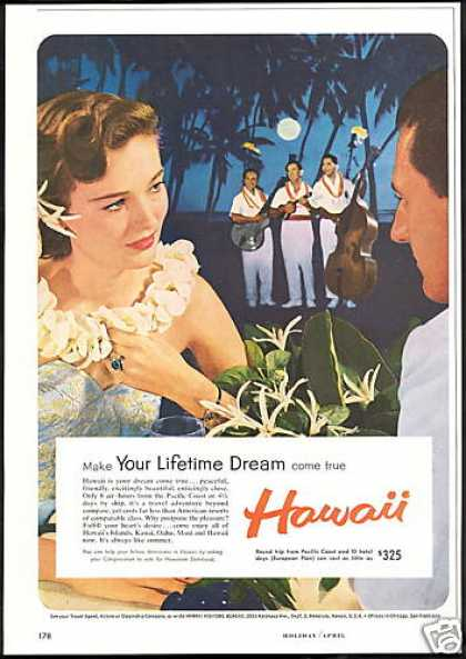 Hawaii Travel Lifetime Dream Petty Woman (1959)
