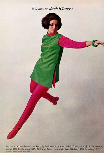 Jack Winter Fashion Bonwit Teller Turtleneck (1964)