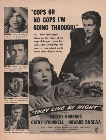 They Live By Night Farley Granger (1949)