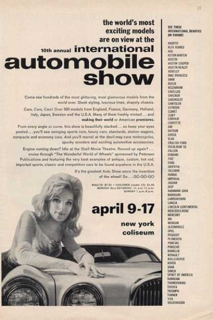 International Automobile Show New York (1966)
