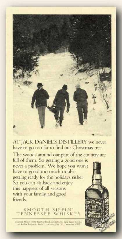 Jack Daniel's Christmas Tree From Near Woods (1986)
