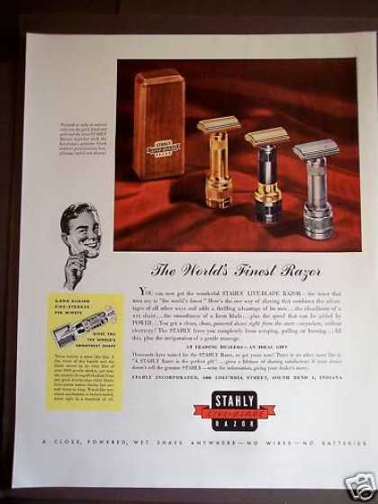 Stahly Live-blade Razor for Men (1946)