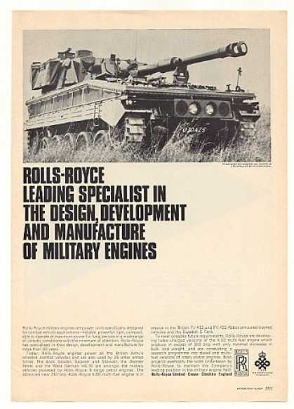 FV 433 Abbot Self-Propelled Gun Rolls-Royce (1967)