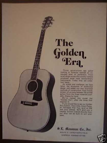 S. L. Mossman Guitars (1974)