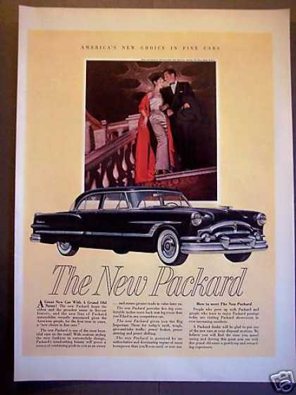 New Packard Car Elegant Couple (1953)