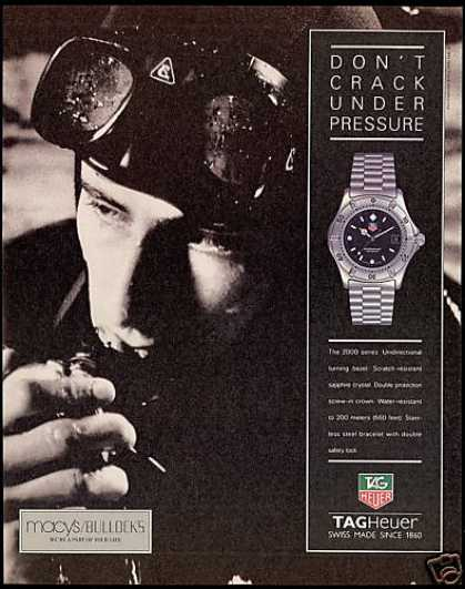 TagHeuer Watch Scuba Diver Tag-Heuer (1993)