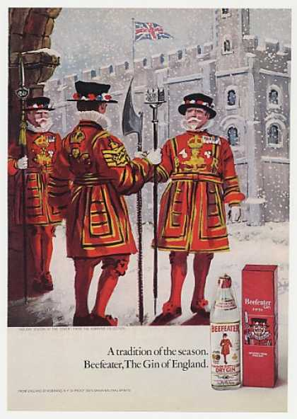 Beefeater Gin Holiday Season at the Tower (1971)