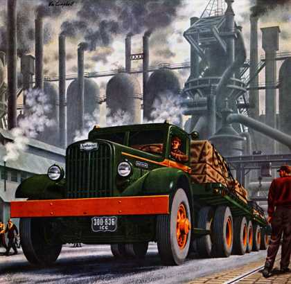 Autocar Trucks, William Campbell (1945)