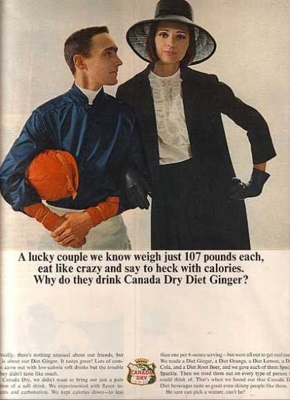 Canada Dry's Diet Ginger (1965)
