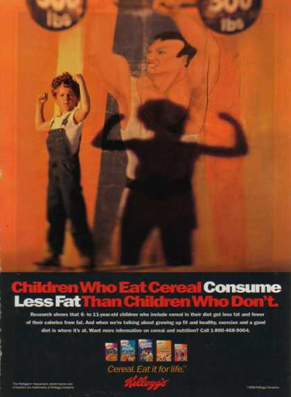 Kellogg's Company – Kids in Advertising – Consume Less Fat (1998)