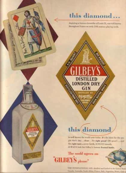 Gilbey's (1954)