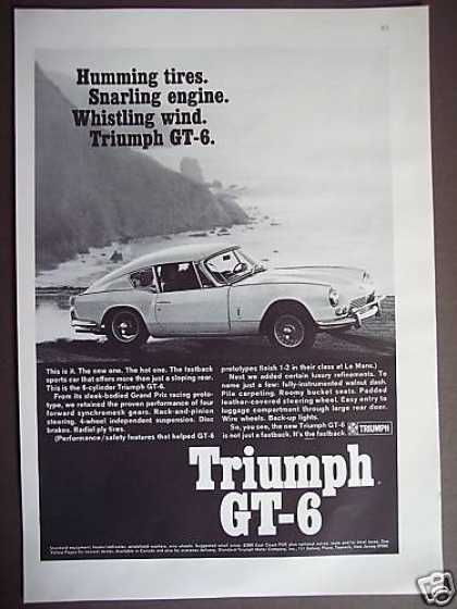 Triumph Gt-6 6 Cylinder Fastback Sports Car (1967)