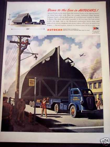 Autocar Trucks Used By Bigge Drayage Co (1944)