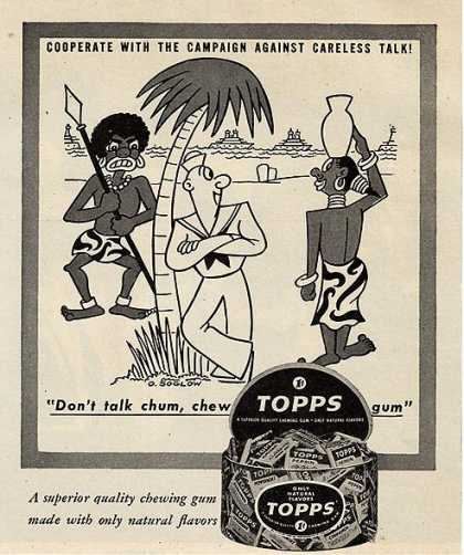 Topp's Chewing Gum (1944)