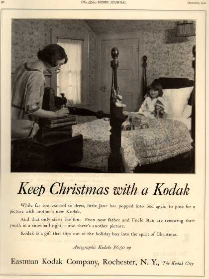 Kodak – Keep Christmas with a Kodak (1922)