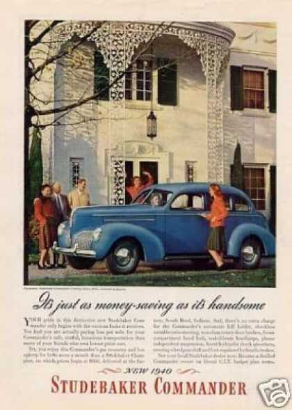 Studebaker Commander Car (1940)