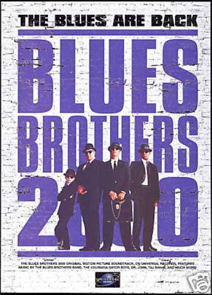 Blues Brothers 2000 Movie Soundtrack Promo (1998)