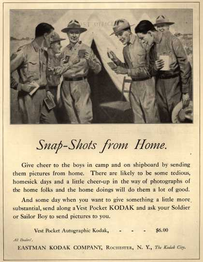 Kodak – Snap-Shots from Home (1917)