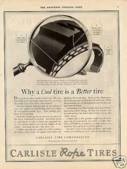 Carlisle Rope Tires (1921)