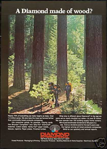 Cub Scouts Hiking Forest Diamonds International (1979)