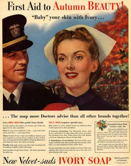 Procter & Gamble Co.'s Ivory Soap – First Aid to Autumn Beauty (1942)