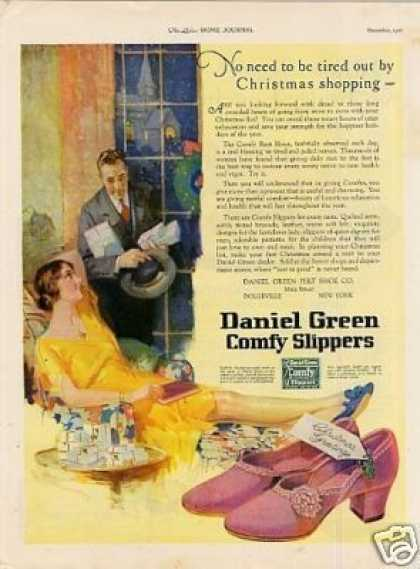 Daniel Green Comfy Slippers (1926)