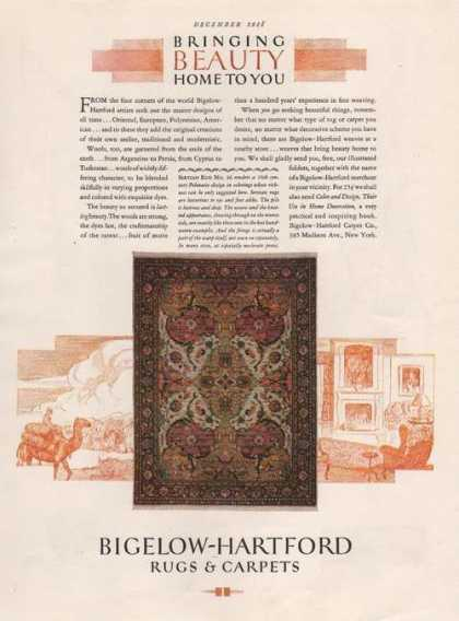 Bigelow Hartford Rugs & Carpets (1928)