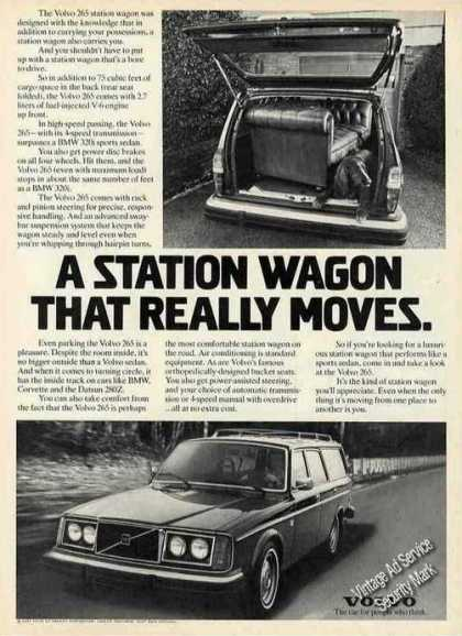 "Volvo 265 Station Wagon Photos ""Really Moves"" (1977)"
