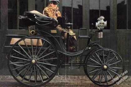 Magazine Photo Beautiful 1893 Benz Victoria (1981)