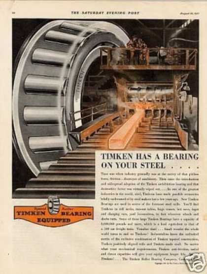 Timken Bearings (1931)
