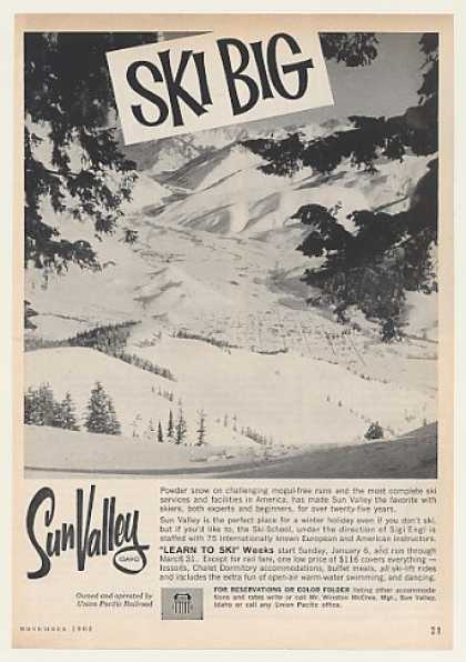 Sun Valley Idaho Skiing Ski Big (1962)