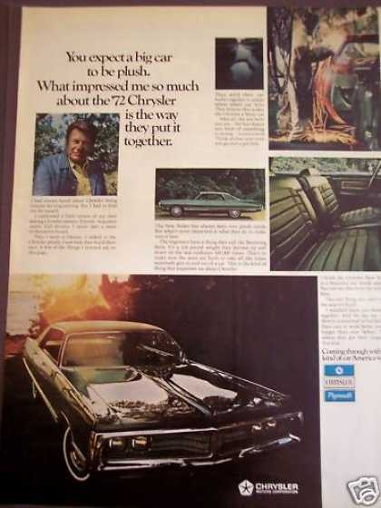 Chrysler New Yorker for '72 Car (1971)