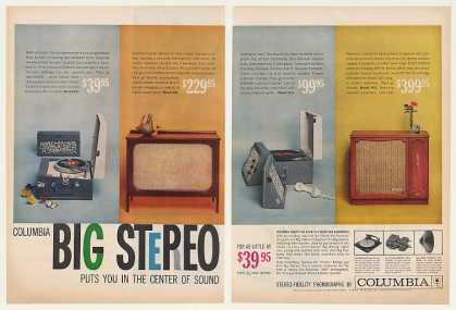 Columbia Stereo Model 951 957 Phono 901 905 2-P (1959)