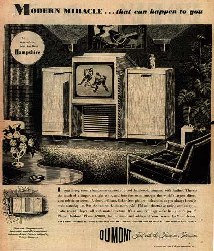 Allen B. DuMont Laboratorie's Television – Modern Miracle... that can happen to you (1948)
