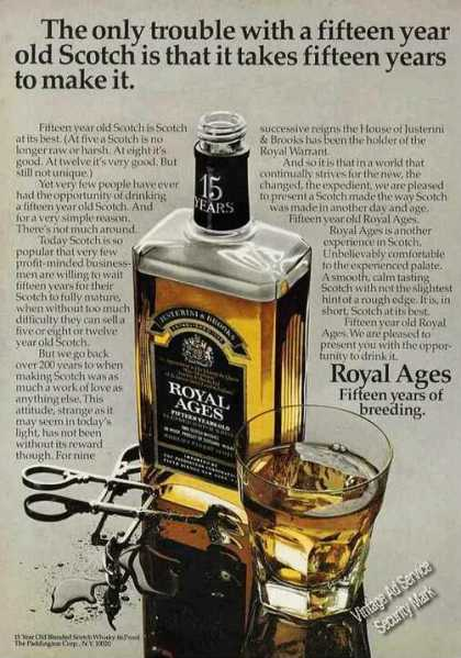 "Royal Ages ""Fifteen Years of Breeding"" Photo (1971)"