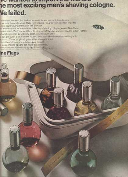 Nine Flag's Shaving Cologne (1967)