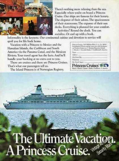 "Island Princess Photos ""The Ultimate Vacation"" (1973)"