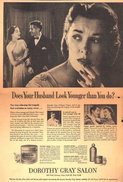 Dorothy Gray Salon's Various – Does Your Husband Look Younger Than You Do? (1951)