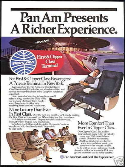 Pan Am Airlines New York JFK Terminal (1986)