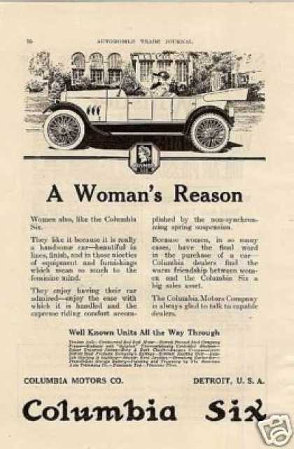 Columbia Six Car (1919)